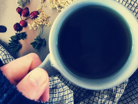 Have a Cup of Tea. Mindful Eating and Drinking - a few steps to a better health