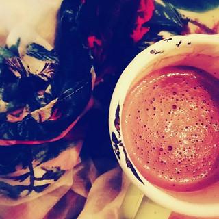 Tulsi Hot Chocolate ☕ Recipe on the blog