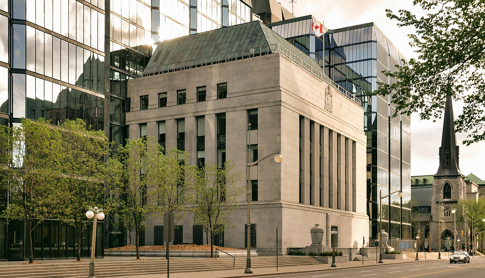 How is Bank of Canada adjusting its rates to help the Canadian economy?