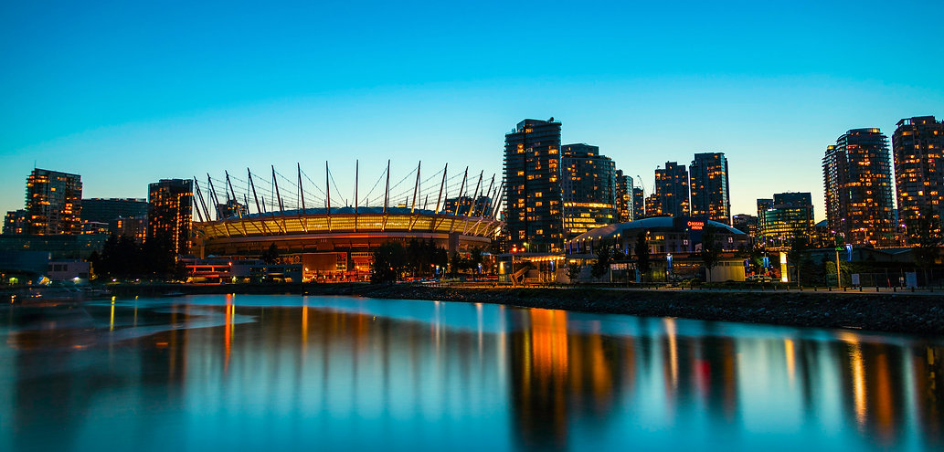 Vancouver BC Place Stadium Downtown