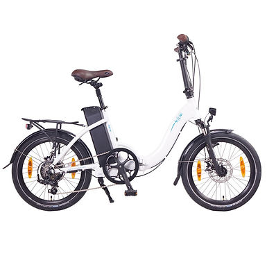 "NCM Paris Folding E-Bike, 250W, 36V 15Ah 540Wh Battery, Size 20"""