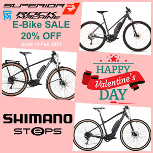 Valentine's Special E-Bike Sale - 20% OFF
