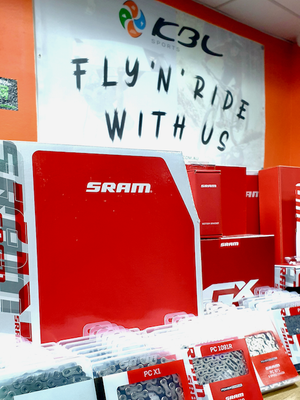 Fresh Stock of SRAM Parts and Components is in!