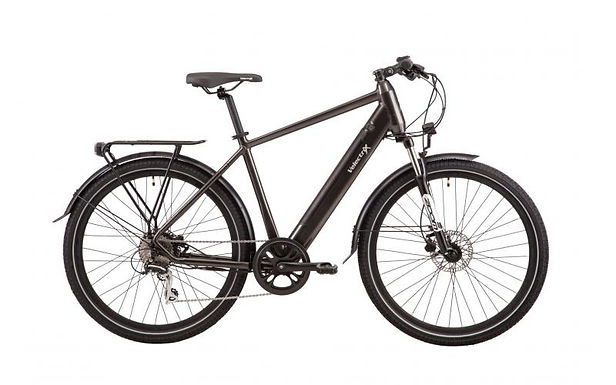Velectrix 22 Urban+ Mens E-Bike (Black) - 51cm