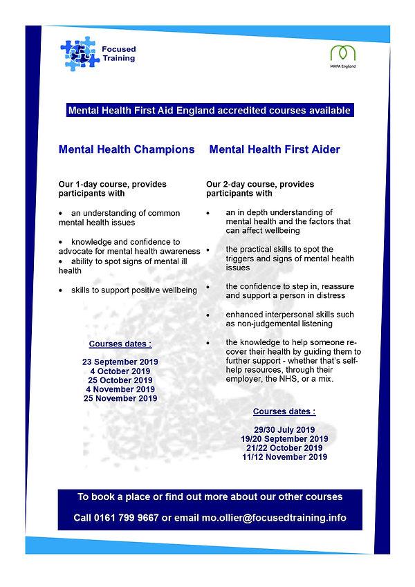 Revised Mental Health A5 leaflet  employ