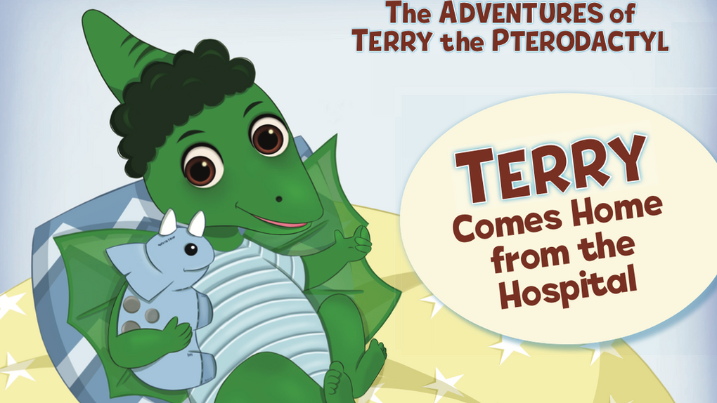 Terry Comes Home from the Hospital