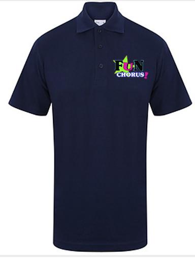 Fun Chorus Embroidered Unisex Polo