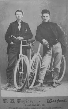 Sassy Gentleman with Bikes