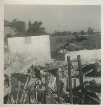 First Barn Destroyed by Tornado