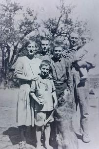 Douglas Family Photo - Circa 1928