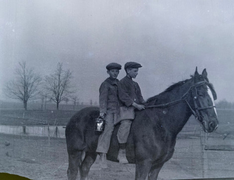 Going to School on Horseback
