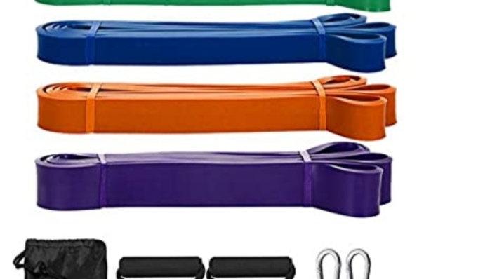 5 Pack Long Range Resistance Bands