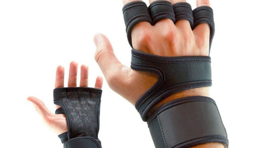 Cross Training Grip Gloves