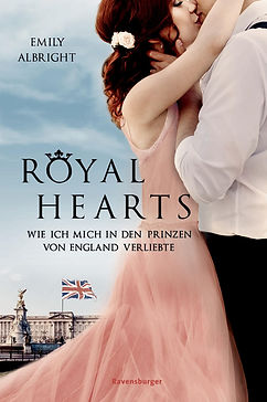 Evie and Edmund, German edition of The Heir and the Spare, Royal Hearts