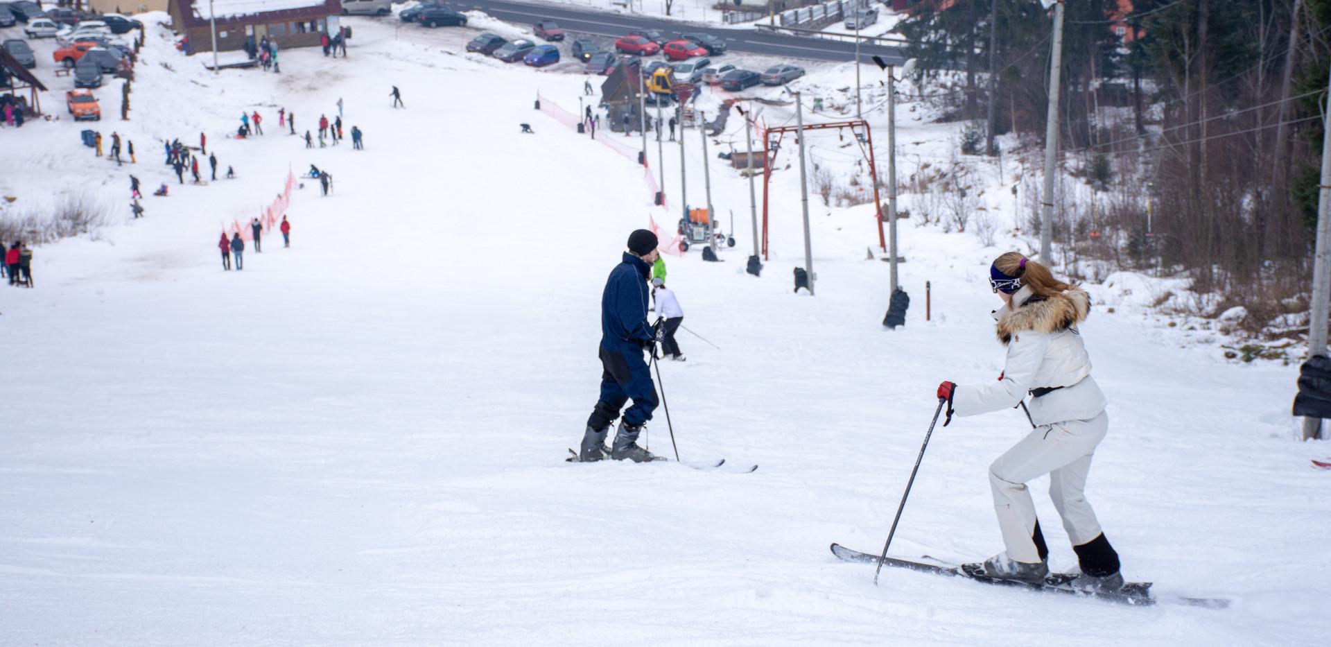 Baile Tusnad partie schi