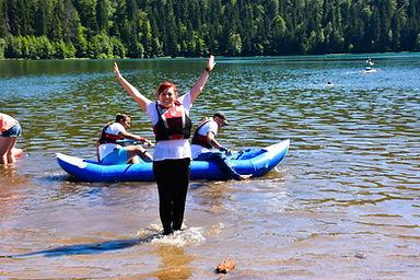 Kayaking Harghita