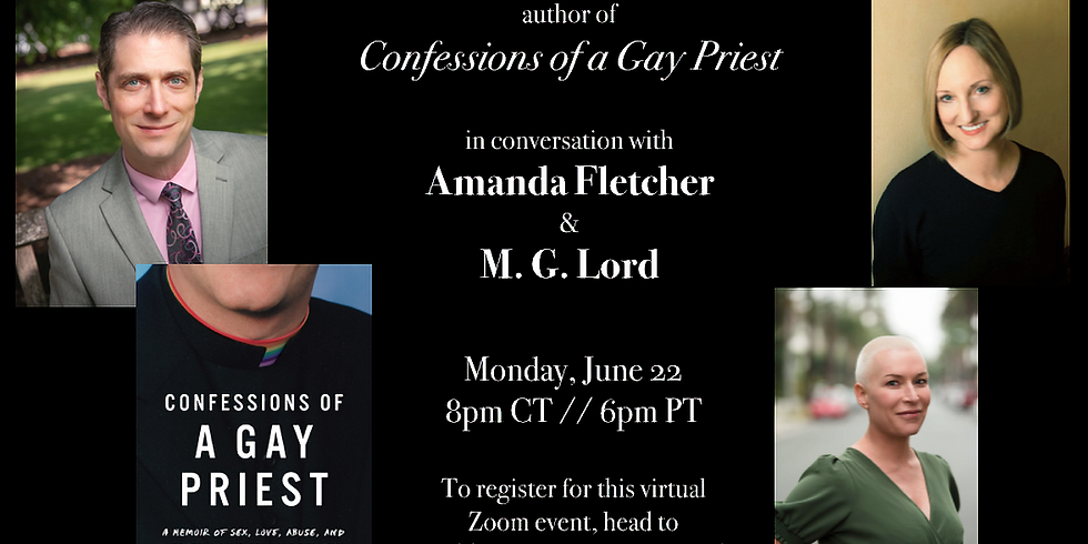 """""""Confessions of a Gay Priest"""" Online Launch Party"""