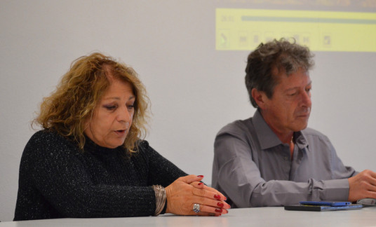 Micaela Coletti e Francesco Martini