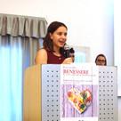 Francesca, in rappresentanza degli allievi della FOSF