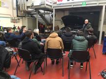 Lezione con il tecnico del prodotto BMW, Giorgio Batzu