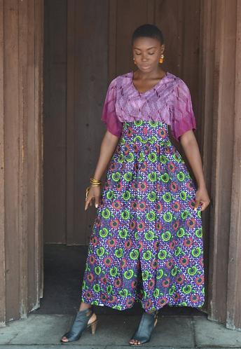 Blanka Violet Maxi Skirt