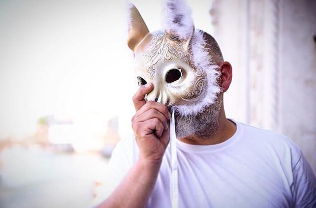 """Арт-Директор компании """"Арт-Шанс"""".Венецианская карнавальная маска """"Белка"""" нашей работы. Венеция 2015 год."""