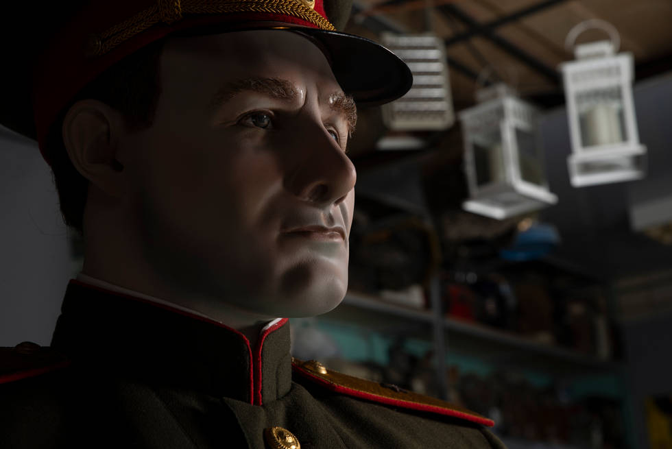 Генерал СА в повседневной форме (1945г)