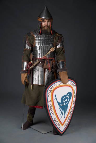 Дружинник старшей дружины белозерских князей (1380г.)
