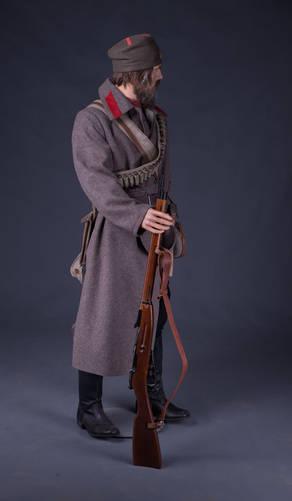 Стрелок 4-й добровольческой дружины из ссыльнокаторжных и ссыльнопоселенцев (южный Сахалин русско-японская война 1904-1905гг)