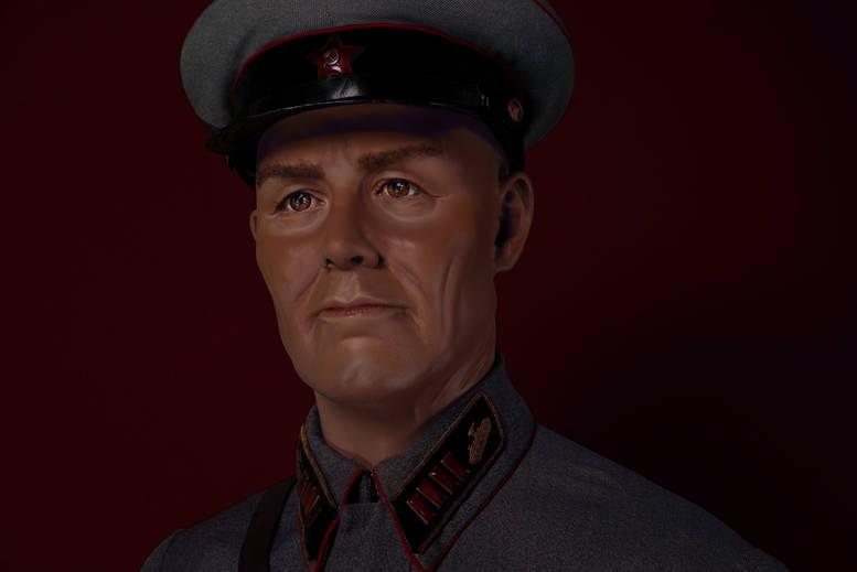 """Полковник АБТВ РККа, из """"военспецов"""" 1938г."""