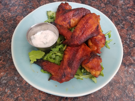 Bloody Mary BBQ Sauce for Chicken Wings or Ribs