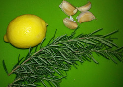 Rosemary Lemon Garlic