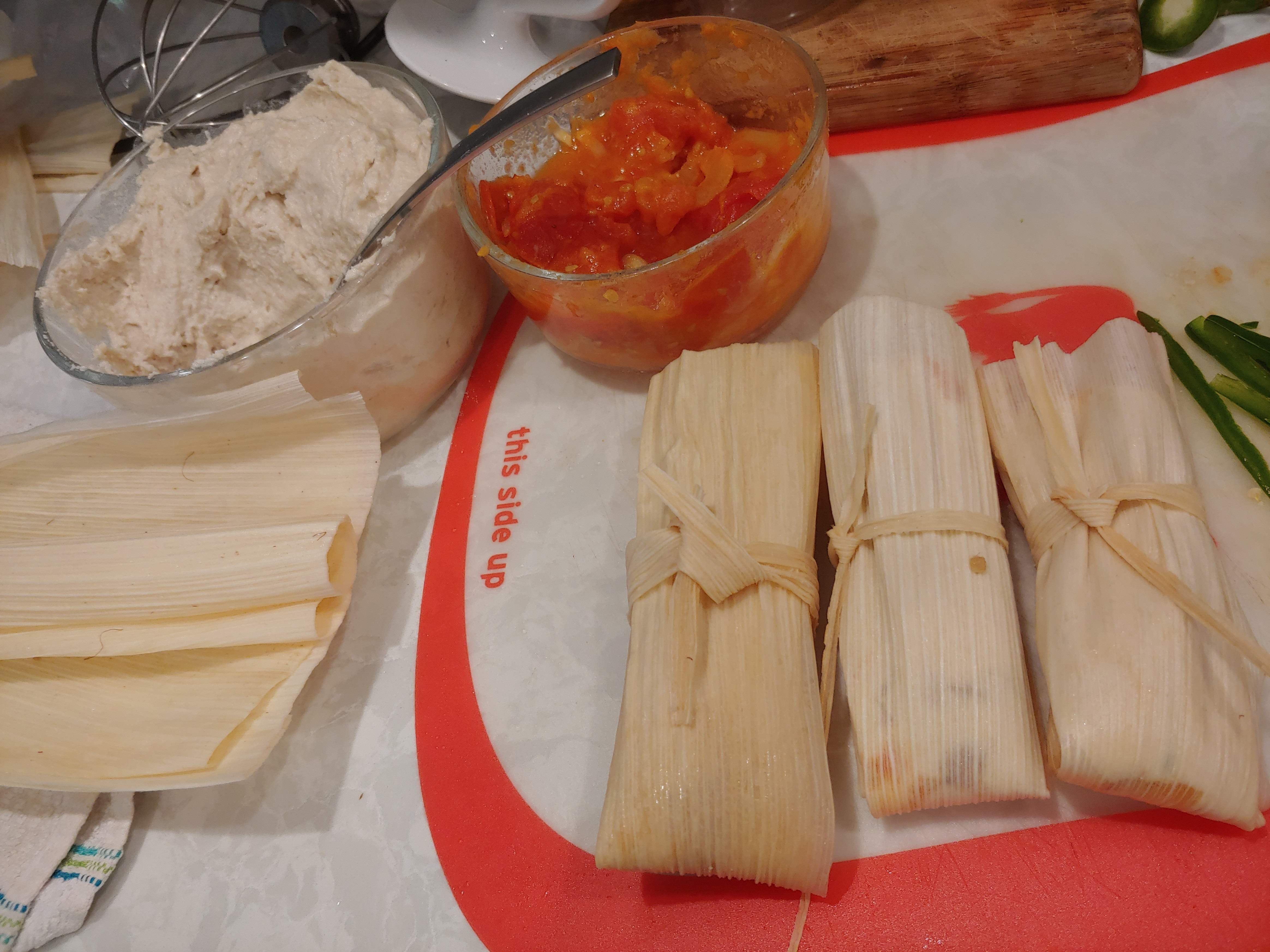 Home-made Tamales