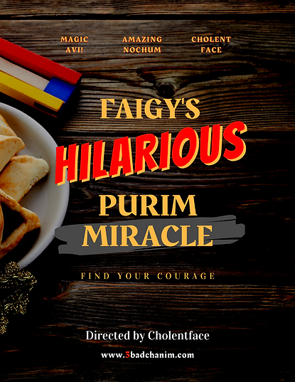 Faigy's Hilarious Purim Miracle