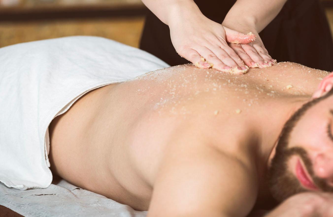 Exfoliación corporal y relajación