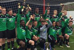 Eldon Celtic U14.County Cup.
