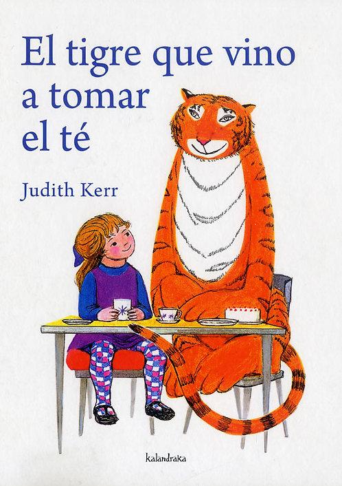 El tigre que vino a tomar el té, Judith Kerr