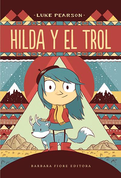 Hilda y el trol, Luke Pearson