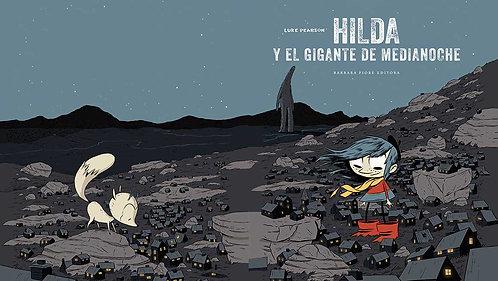 Hilda y el gigante de media noche, Luke Pearson