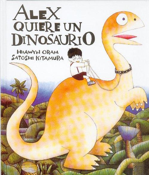 Alex quiere un dinosaurio, Satoshi Kitamura