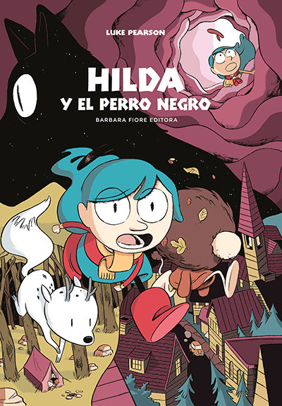 Hilda y el perro negro, Luke Pearson