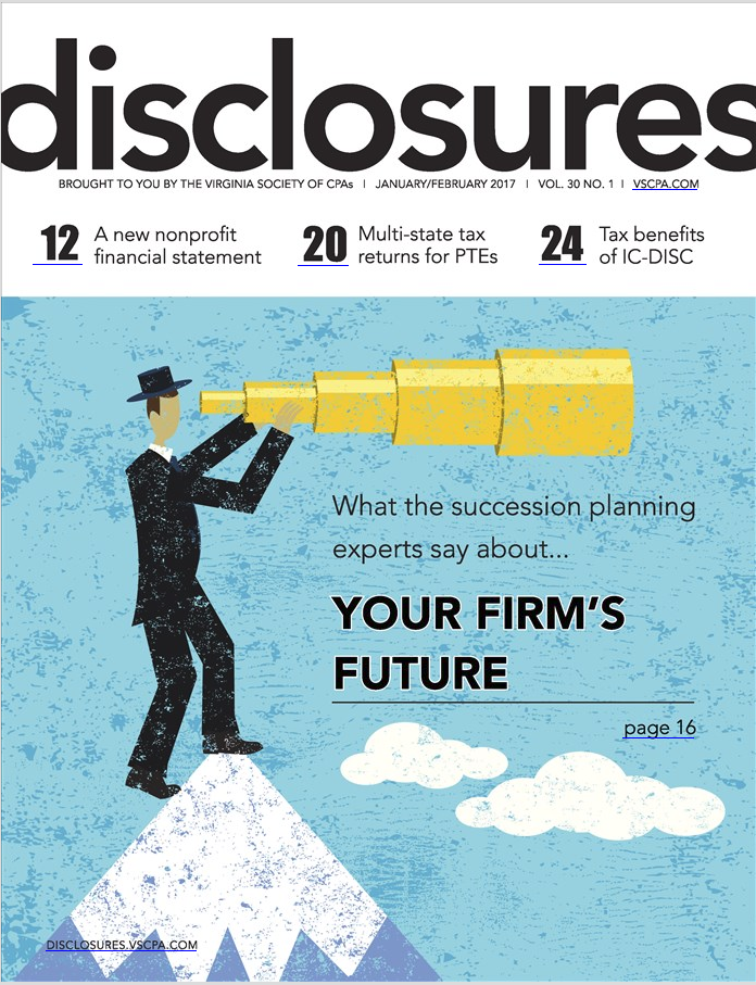 Disclosures Magazine (January 2017)