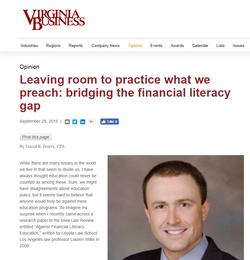 Virginia Business Magazine (9/28/15)