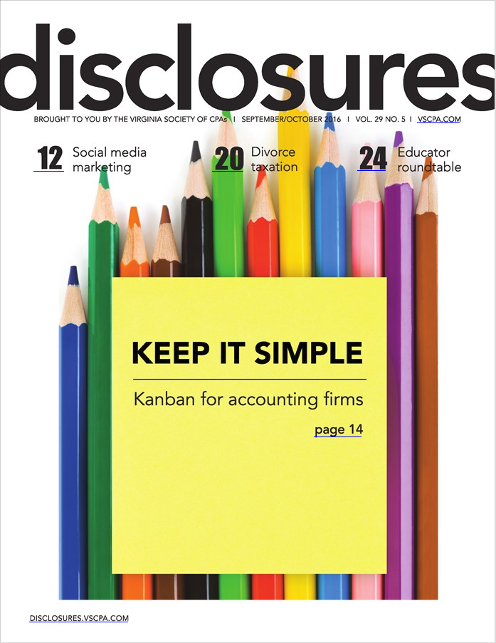 Disclosures Magazine (Sept. 2016)