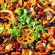 Spicy Dry-fry pot