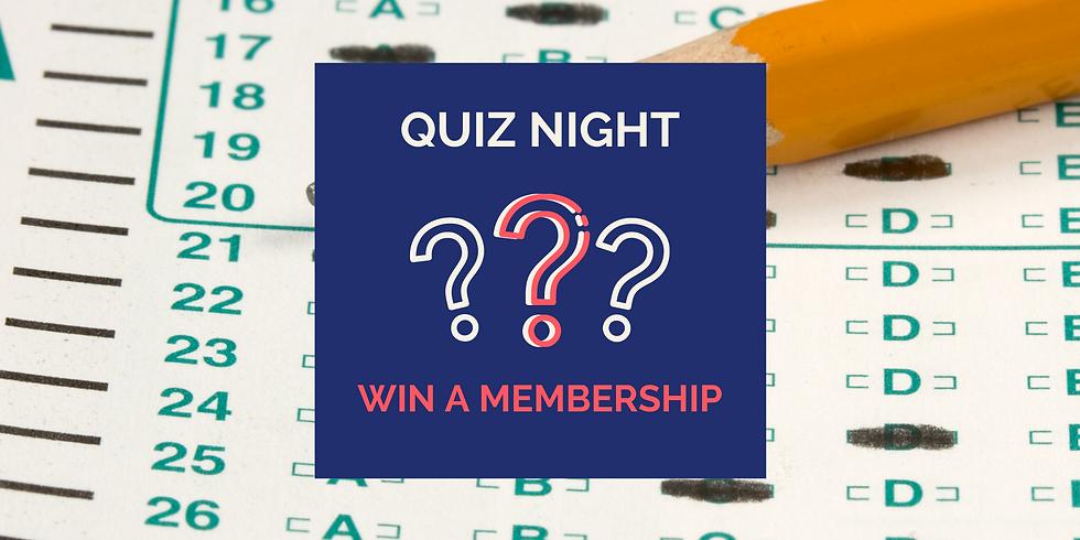 Online Sojoourn Quiz night