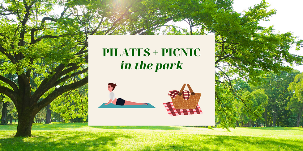 Pilates and Picnic in the park