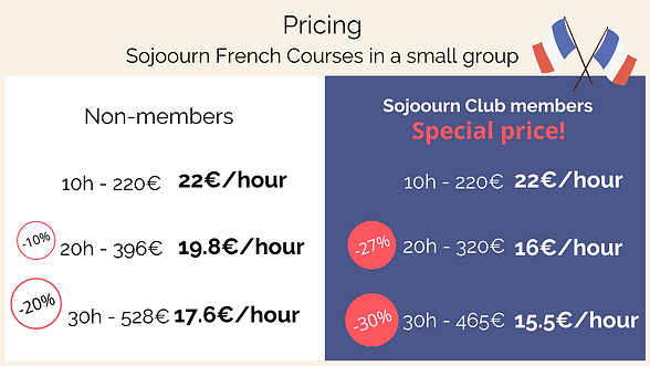 Sojoourn French courses pricing.png