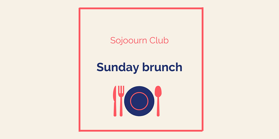 Sunday brunch (members only)