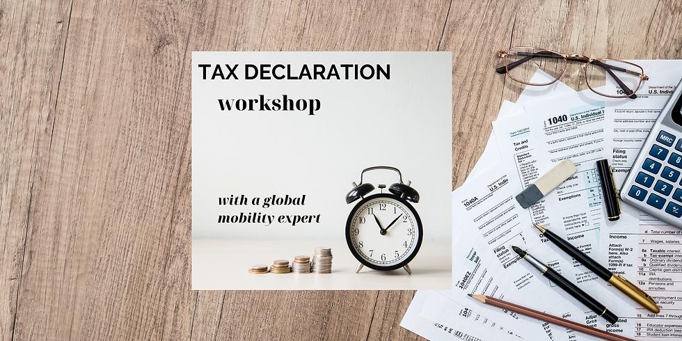 Tax declaration workshop